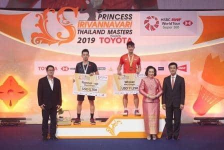 ໂລຄີນຢີວ ຄວ້າແຊ້ມດອກປີກໄກ່ thailand masters 2019 - 111 4 - ໂລຄີນຢີວ ຄວ້າແຊ້ມດອກປີກໄກ່ Thailand Masters 2019