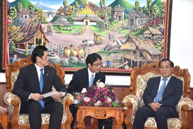 ລາວ-ຍີ່ປຸ່ນ ເສີມຂະຫຍາຍສາຍພົວພັນຮ່ວມມື - Laos Jpan - ລາວ-ຍີ່ປຸ່ນ ເສີມຂະຫຍາຍສາຍພົວພັນຮ່ວມມື