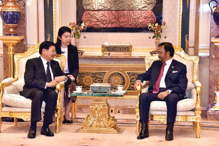 ລາວ-ບຣູໄນ ດາຣູຊາລາມ ເສີມຂະຫຍາຍສາຍພົວພັນຮ່ວມມືສອງຝ່າຍ - Laos Brunei - ລາວ-ບຣູໄນ ດາຣູຊາລາມ ເສີມຂະຫຍາຍສາຍພົວພັນຮ່ວມມືສອງຝ່າຍ