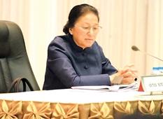 ປະທານສະພາເນັ້ນໃຫ້ໄອຍະການເອົາໃຈໃສ່ຕິດຕາມການປະຕິບັດການໝາຍໃຫ້ຖືກຕ້ອງ - President of assembly - ປະທານສະພາເນັ້ນໃຫ້ໄອຍະການເອົາໃຈໃສ່ຕິດຕາມການປະຕິບັດການໝາຍໃຫ້ຖືກຕ້ອງ