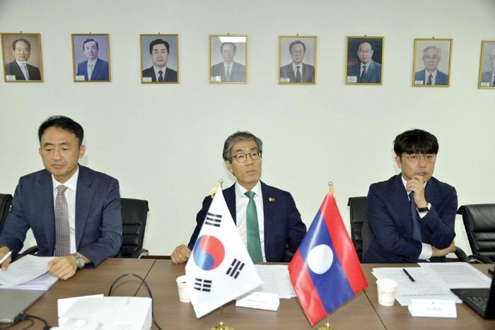 ສ.ເກົາຫລີ ຕົກລົງຊ່ວຍເຫລືອແຂວງອັດຕະປື 12 ລ້ານໂດລາເພື່ອປັບປຸງຊີວິດການເປັນຢູ່ຂອງປະຊາຊົນ - Korea fun for Attapue - ສ.ເກົາຫລີ ຕົກລົງຊ່ວຍເຫລືອແຂວງອັດຕະປື 12 ລ້ານໂດລາເພື່ອປັບປຸງຊີວິດການເປັນຢູ່ຂອງປະຊາຊົນ