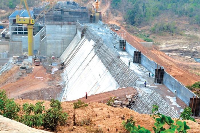 ການກໍ່ສ້າງເຂື່ອນໄຟຟ້າເຊລະນອງ i ຄືບໜ້າແລ້ວ 54,2% - Selanong Dam - ການກໍ່ສ້າງເຂື່ອນໄຟຟ້າເຊລະນອງ I ຄືບໜ້າແລ້ວ 54,2%