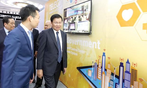 unitel ນໍາສະເໜີເຕັກໂນໂລຊີທັນສະໄໝໃນງານ lao ict expo 2019 - DSC09013 - Unitel ນໍາສະເໜີເຕັກໂນໂລຊີທັນສະໄໝໃນງານ Lao ICT EXPO 2019