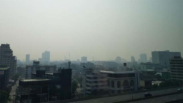 ຝຸ່ນລະອອງ pm2.5 ປົກຄຸມກຸງເທບ ເປັນອັນດັບ 3 ຂອງໂລກ - 3697 - ຝຸ່ນລະອອງ PM2.5 ປົກຄຸມກຸງເທບ ເປັນອັນດັບ 3 ຂອງໂລກ