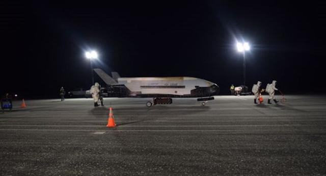 ດາວທຽມກະສວຍ x-37b ກັບຄືນສູ່ພື້ນໂລກ - 258 - ດາວທຽມກະສວຍ X-37B ກັບຄືນສູ່ພື້ນໂລກ