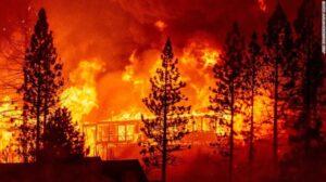 ແຄລິຟໍເນຍວິກິດໜັກ ຟ້າປ່ຽນສີຍ້ອນໄຟໄໝ້ປ່າ - 200908135402 03 creek fire 0908 exlarge 169 300x168 - ແຄລິຟໍເນຍວິກິດໜັກ ຟ້າປ່ຽນສີຍ້ອນໄຟໄໝ້ປ່າ