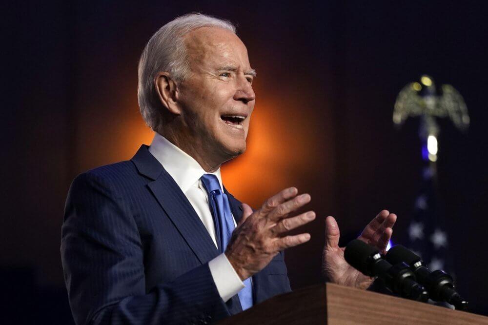 """ໄບເດັນ ປະກາດ""""ເຮົາກຳລັງຈະຊະນະ"""" - Joe Biden Nov 6 2020 - ໄບເດັນ ປະກາດ""""ເຮົາກຳລັງຈະຊະນະ"""""""