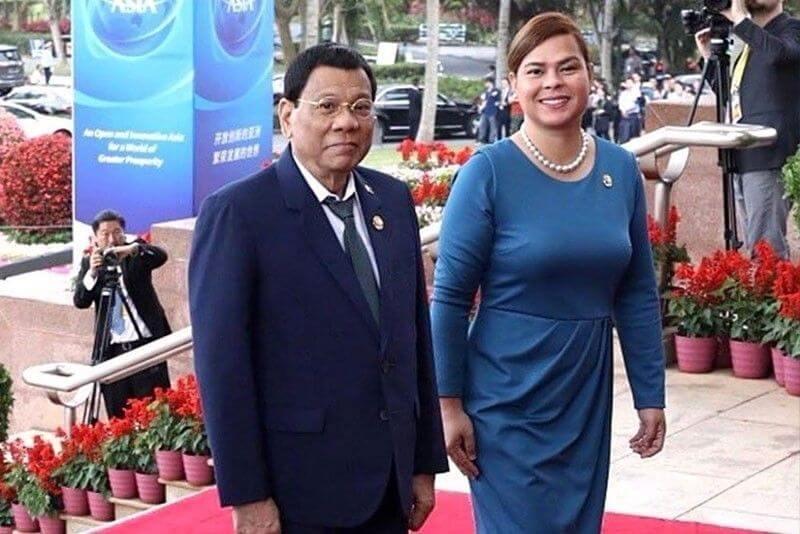 ທ່ານ Duterte ປະທານາທິບໍດີ ຟີລິບປິນ ກ່າວວ່າ: ຕັ່ງປະທານາທິບໍດີ ບໍ່ແມ່ນໄວ້ໃຫ້ຜູ້ຍິງ - gen10 rudy sara duterte 2019 02 16 22 23 59 - ທ່ານ Duterte ປະທານາທິບໍດີ ຟີລິບປິນ ກ່າວວ່າ: ຕັ່ງປະທານາທິບໍດີ ບໍ່ແມ່ນໄວ້ໃຫ້ຜູ້ຍິງ
