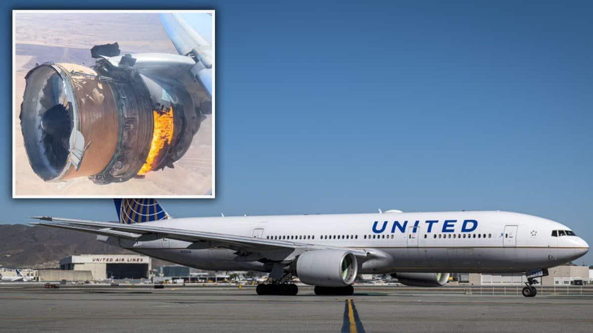 """ໂຈະການບິນຂອງເຮືອບິນ """"ໂບອິ້ງ 777"""" ເຮືອບິນລຸ້ນໄຟໄໝ້ກາງອາກາດ - Boeing 777 United Airlines - ໂຈະການບິນຂອງເຮືອບິນ """"ໂບອິ້ງ 777"""" ເຮືອບິນລຸ້ນໄຟໄໝ້ກາງອາກາດ"""