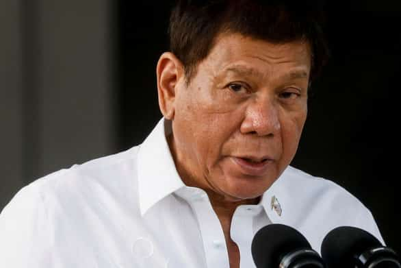 ປະທານາທິບໍດີ rodrigo duterte ຂອງ ຟີລິບປິນ ກ່າວວ່າ: ຈີນໃຫ້ພວກເຮົາທຸກຢ່າງ ແຕ່ບໍ່ທັນເຫັນຮຽກຮ້ອງຫຍັງຄືນຈັກຢ່າງ. - 14 3 - ປະທານາທິບໍດີ Rodrigo Duterte ຂອງ ຟີລິບປິນ ກ່າວວ່າ: ຈີນໃຫ້ພວກເຮົາທຸກຢ່າງ ແຕ່ບໍ່ທັນເຫັນຮຽກຮ້ອງຫຍັງຄືນຈັກຢ່າງ.